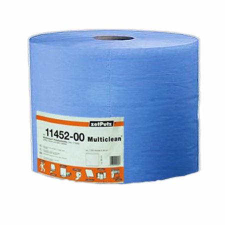 ZETPUTZ MULTICLEAN - бумажные салфетки 3-х слойные, 500 отрывов (синие)